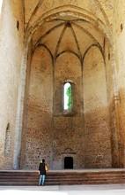 Palermo, Italy - April 07, 2019 Evocative Image Of The Church Of Santa Maria Allo Spasimo In Palermo