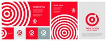 Target Logo. Red Aim, Arrow, C...