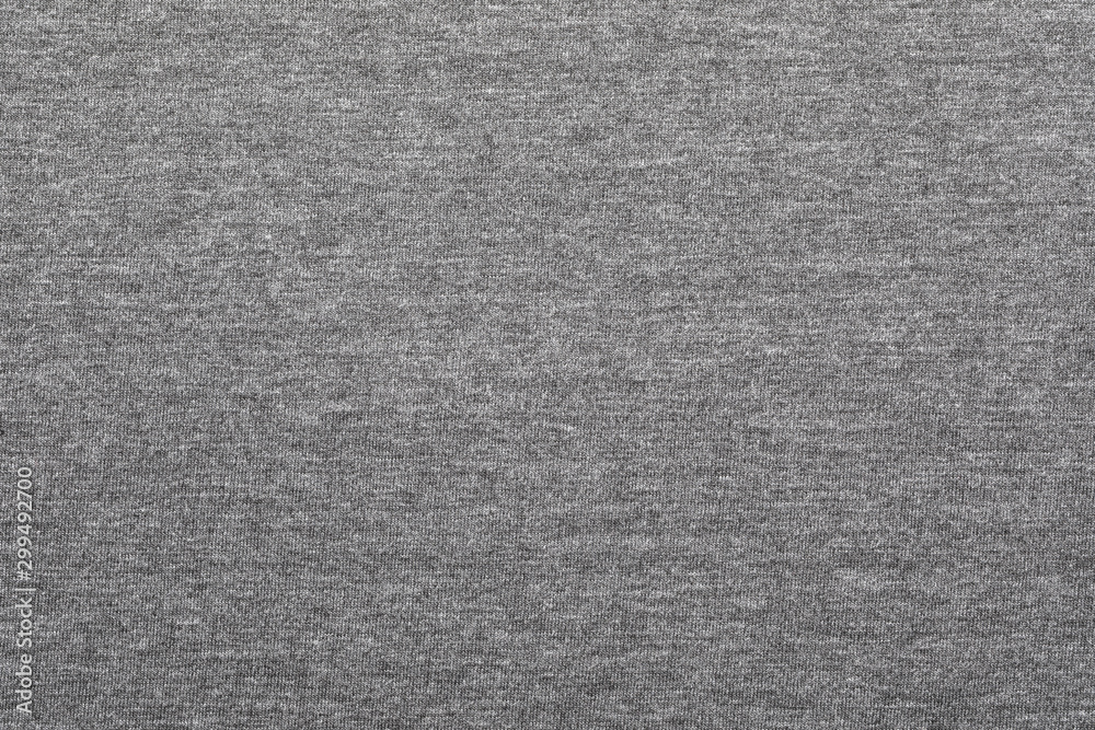 Fototapety, obrazy: Heather grey knitted fabric textured background