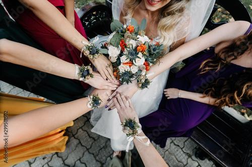 Fotomural  Wedding help