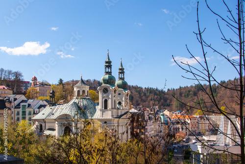 Fototapeta  Ansicht von Karlovy Vary