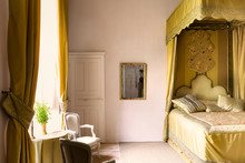 Canopy Bed In French Chateau