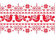 Scandinavian Christmas Folk Ar...