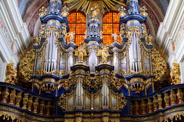 Barokowe organy w Sanktuarium Maryjnym w Świętej Lipce