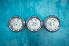 Silver Metal Energy Drinks Met...