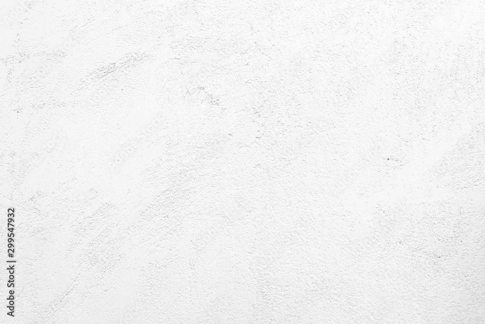 Fototapety, obrazy: White wall texture rough background abstract concrete floor or Old cement grunge background with white empty.