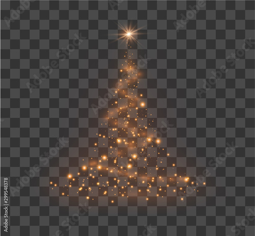 Obraz Christmas festive tree - fototapety do salonu