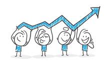 Stickman Blue: Teamwork, Arrow...
