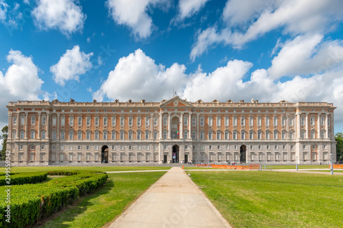 Printed kitchen splashbacks Garden The Royal Palace of Caserta (Reggia di Caserta) a former royal residence in Caserta, southern Italy.