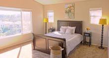 Master Bedroom Bathed In Light
