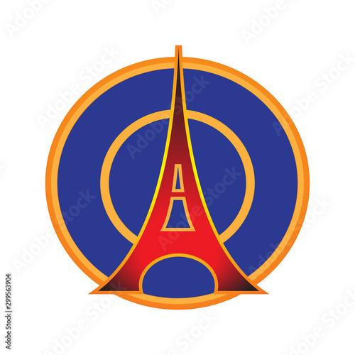 Fotografía Paris saint germain logo design