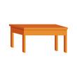 table icon, flat design