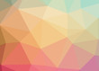 Rainbow theme abstract background triangles trianglify colorful beautiful simple pattern design wallpaper illustration texture