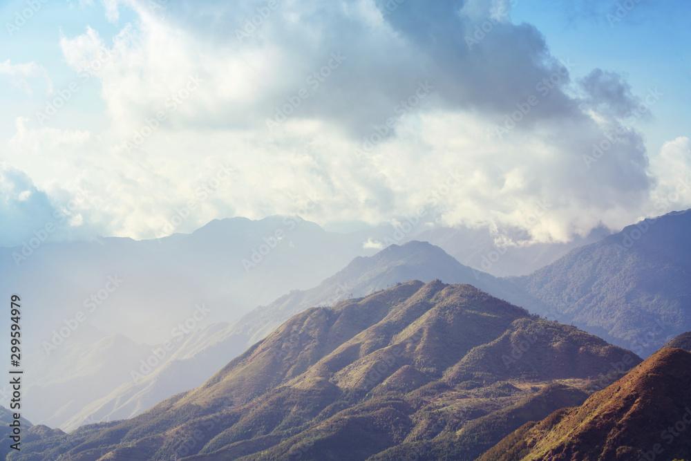 Fototapety, obrazy: Mountains in Vietnam
