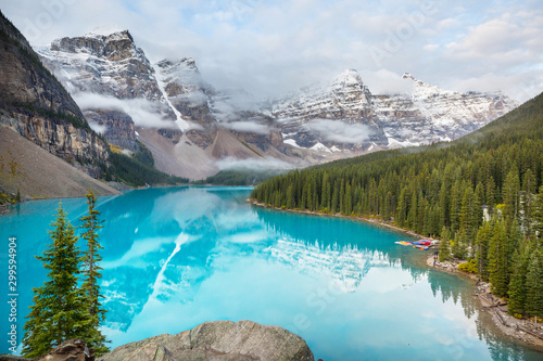 Poster Londen Moraine lake
