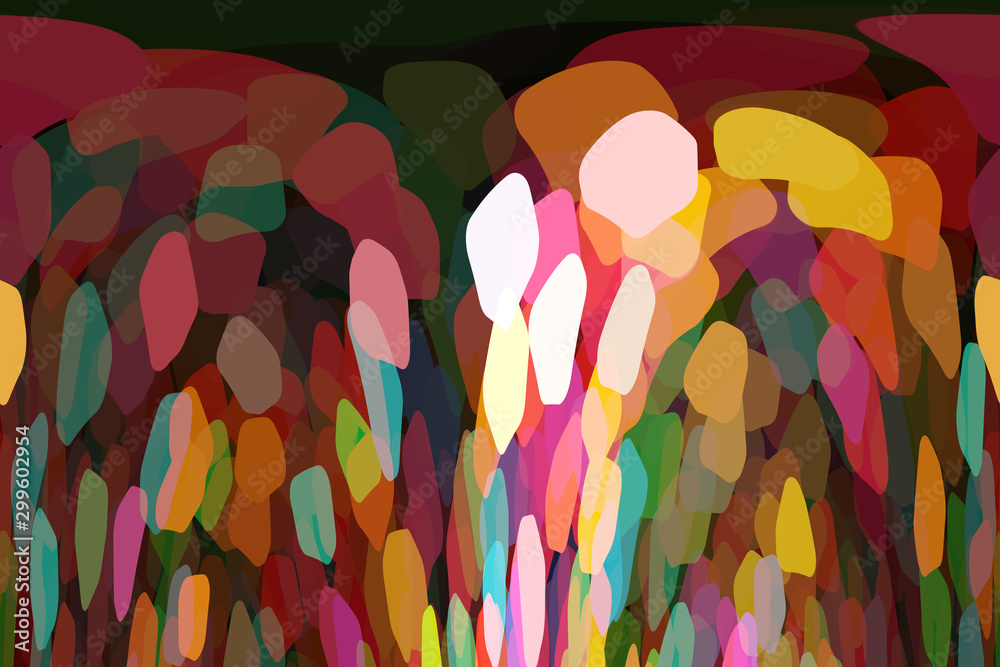 Illustration of an unusual abstract bright pattern interesting background