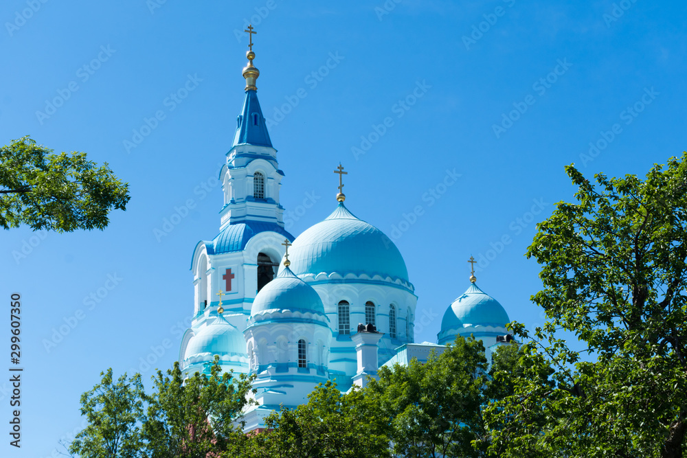 Fototapety, obrazy: Transfiguration Cathedral of the Valaam monastery