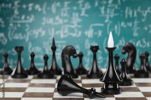 Chess. Wallpaper Mural