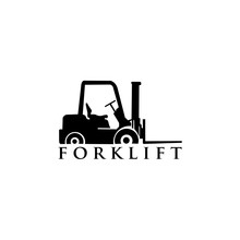 Forklift Truck, Forklift Truck Trendy Filled Icons From Transport Collection, Forklift Truck Vector Illustration