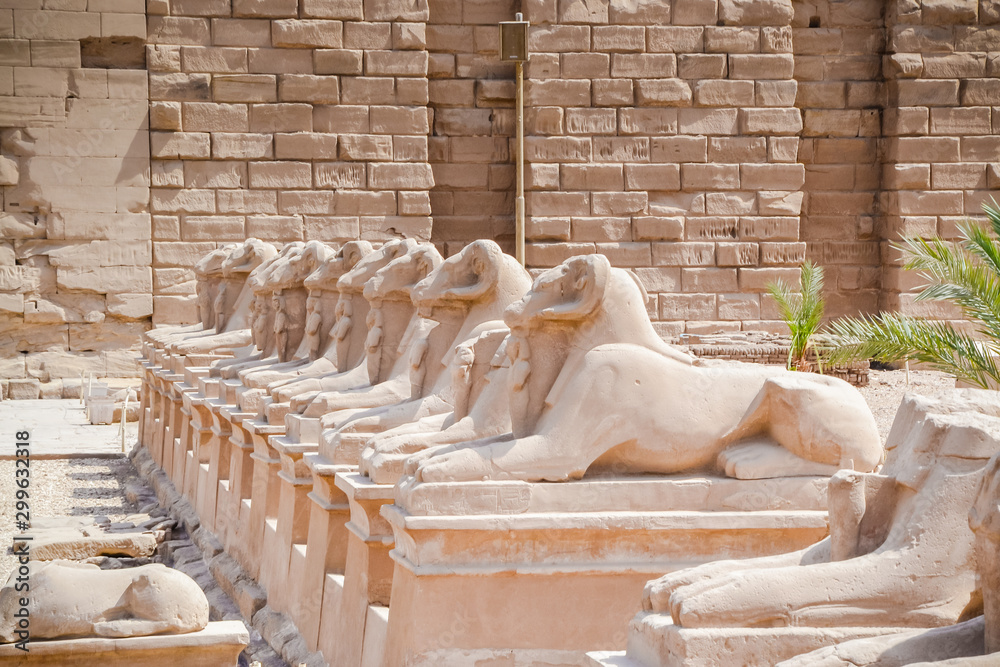 Fototapety, obrazy: The Karnak Temple Complex, commonly known as Karnak meaning