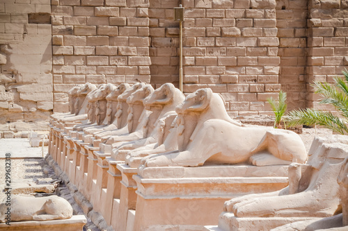 Fotografie, Obraz  The Karnak Temple Complex, commonly known as Karnak meaning fortified village,