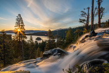 View From Eagle Falls, Lake Tahoe (sun Rise)