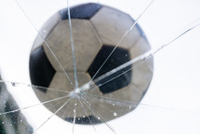 Old Small Football Which Was S...