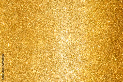 Valokuvatapetti golden glitter abstract background