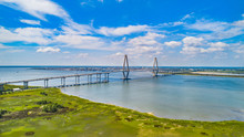 Ravenel Bridge In Charleston, ...