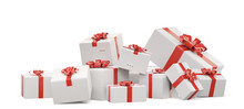 Packed Gifts. Festive Postal P...