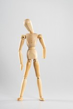 Wooden Pose Doll Standing