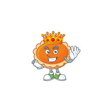 Orange Pie In The Character With King