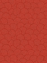 Traditional Chinese Seamless Pattern. Red Oriental Background, Geometric Print, Wallpaper, Template For Fabrics, Web Design, Posters, Interior... Vector Illustration.