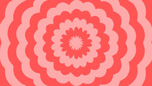 Vector - Pink Abstract Flower ...