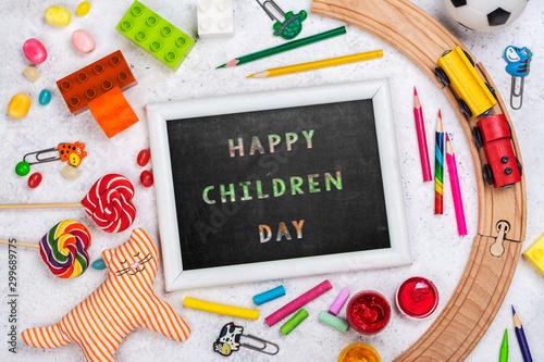 Photo  Children day background