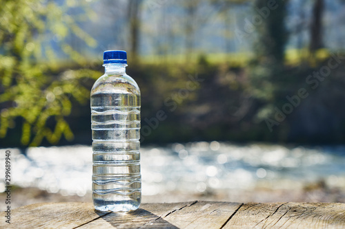 Fotografie, Obraz  Plastic bottle with clean drinking water.