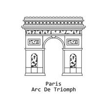 Arc De Triomphe, Triumphal Arc...