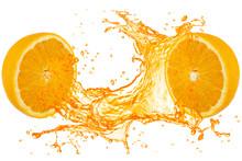Orange Juice Splash With 2 Hal...