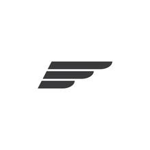 Wing Logo Template Vector Icon...