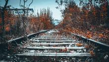 Verlassene Bahnstrecke