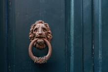 Steel Door Handle In The Form ...