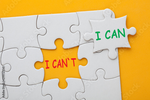 I Can and I Can't Wallpaper Mural