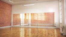Dance Or Ballet Studio Interio...