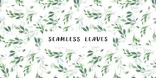 Pastel, Royal And Golden Leaf Seamless Garden Background Pattern For Fashion Fabric Print