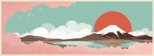 Panoramic Retro Vector Illustr...