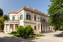 Schloss Mon Repos Auf Korfu In...