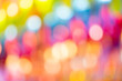 Leinwandbild Motiv Colorful Bokeh Art Abstract ,Creative design templates for product web and mobile applications