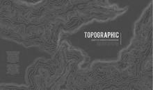 Topographic Map Contour Backgr...