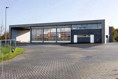 Foto Firebrigade. Firestation Netherlands De Wijk