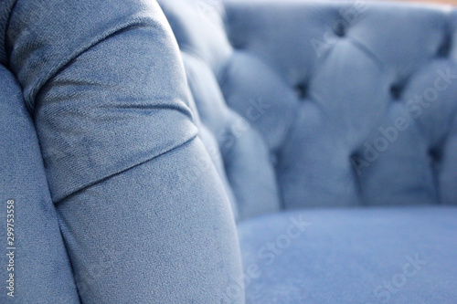 Detail of classic furniture, selective focus Canvas Print